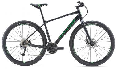 Giant ToughRoad SLR 2 Gunmetalblack-Flashgreen Matt 2019