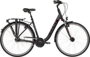Giant Tourer LDS Black-Red Matt-Gloss 2019