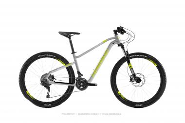 Haibike SEET HardSeven Life 4.0 Silber/Lime/Weiß 2019 - MTB Hardtail 27,5 -