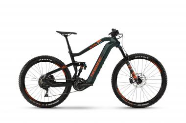 Haibike XDURO AllMtn 8.0 Olive/Carbon/Orange matt 2020 - MTB Fully -