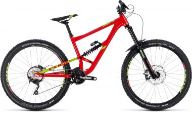 Cube Hanzz 190 Race - 27.5 - red´n´lime 20