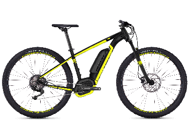 GHOST Hybride Teru B2.9 AL Night black NEONYELLOW - 2018 - Uni 29 -