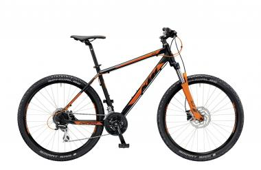 KTM CHICAGO 27.24 Disc H black matt (orange) 2019 - Disc H 27,5 -