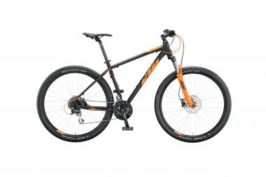 KTM CHICAGO DISC 29 black matt (orange) 2020
