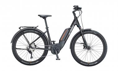 KTM MACINA AERA P272 LFC Black Matt ( Grey Orange )  2021 - 500Wh 27,5