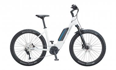 KTM MACINA AERA P272 Metallic White ( Grey Blue )  2021 - 500Wh 27,5