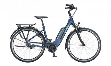 KTM MACINA CENTRAL 7 Eveblue Matt ( Blue )  2021 - 400Wh 28