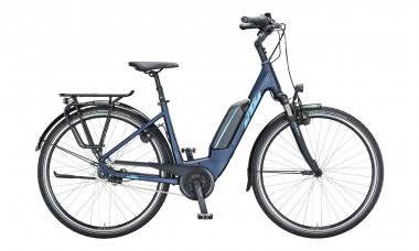 KTM MACINA CENTRAL 7 RT Eveblue Matt ( Blue )  2021 - 400Wh 28