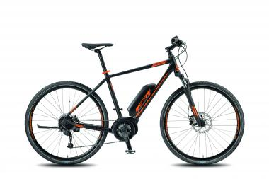 KTM MACINA CROSS 9 A4 HE - HE - black matt (orange) 60