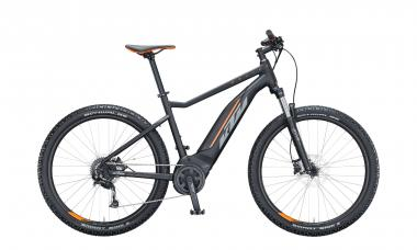 KTM MACINA RIDE 271 Black Matt ( Grey Orange )  2021 - 500Wh 27,5