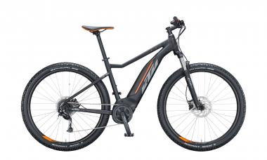 KTM MACINA RIDE 291 Black Matt ( Grey Orange )  2021 - 500Wh 29