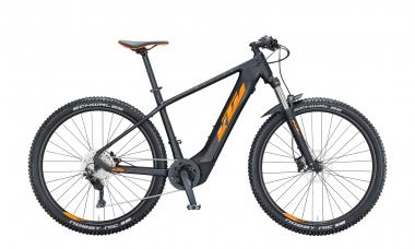 KTM MACINA TEAM 293 Black Matt ( Orange Black Glossy )  2021 - 625Wh 29