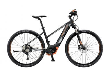 KTM R2R CROSS 10 CX5CO black matt (grey orange)