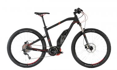 Husqvarna LC2 - MTB Hardtail 27,5 504Wh -  black matt, red 2018