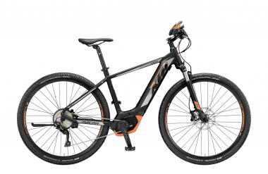 KTM MACINA CROSS 10 CX5 black matt (grey orange) 2019 - HE 28 -