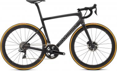 Specialized Men's S-Works Tarmac Disc - 28 - Satin Black/Silver Holo/Clean 58