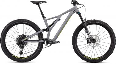 Specialized Men's Stumpjumper Comp Alloy 27.5 -12-speed - 27.5 -  Satin Cool Grey / Team Yellow 2019