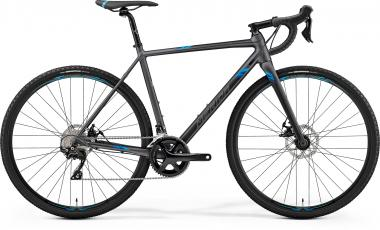 Merida MISSION CX 400 - 28 -  MATT SILVER(BLUE) 2019