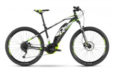 Raymon E-Sevenray 4.5 - MTB Hardtail 27,5 -  black/white/green 2019
