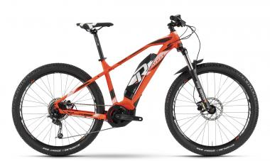 Raymon E-Sevenray 5.0 - MTB Hardtail 27,5 - orange/white/black M