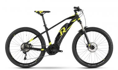Raymon E-Sevenray 6.0 - MTB Hardtail 27,5 -  black/yellow/black 2019