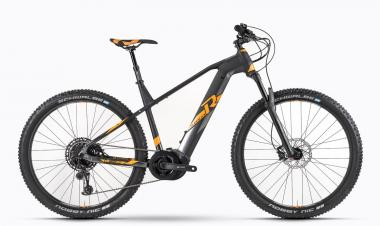 Raymon E-Sevenray 9.0 - MTB Hardtail 27,5 -  black/orange/dark grey 2019