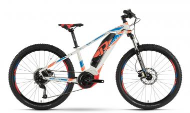 Raymon E-Sixray 4.0 - MTB Hardtail 26 -  white/blue/orange 2019