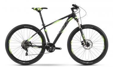 Raymon Sevenray 4.0 - MTB Hardtail 27,5 -  black/green/dark grey 2019