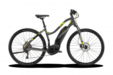Haibike SDURO Cross 4.0 Damen Anthrazit/Schwarz/Lime 2018