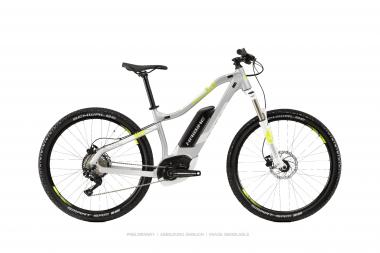 Haibike SDURO HardSeven Life 4.0 Silber/Lime/Weiß