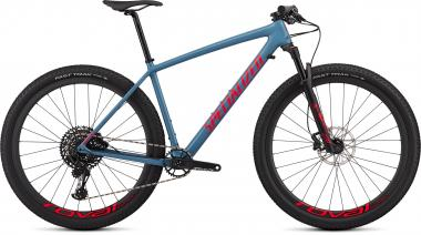 Specialized Epic Hardtail Expert - 29 - Gloss Storm Grey/Rocket Red M