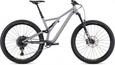 Specialized Men's Stumpjumper Comp Alloy 29 -12-speed - 29 - Satin Cool Grey / Team Yellow M