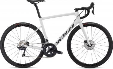 Specialized Men's Tarmac Disc Expert - 28 -  White/Blue Ghost Pearl/Satin Black/Clean 2019