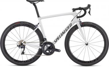 Specialized Men's Tarmac Expert - 28 -  White/Blue Ghost Pearl/Satin Black/Clean 2019