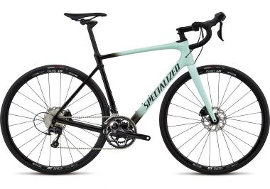 Specialized Specialized Roubaix Elite Gloss Mint/Tarmac Black Fade/Black Reflective Clea 2018 S