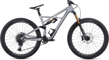 Specialized S-Works Enduro 29 - 29 -  Gloss Flake Silver Form Fade/Tarmac Black 2019