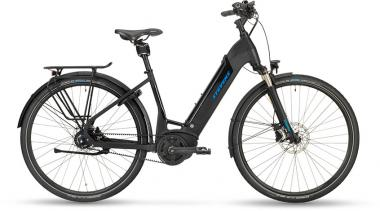 Stevens E-Courier Luxe - Forma 500Wh -  Stealth Black 2019