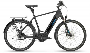 Stevens E-Courier Luxe - Gent 500Wh -  Stealth Black 2019