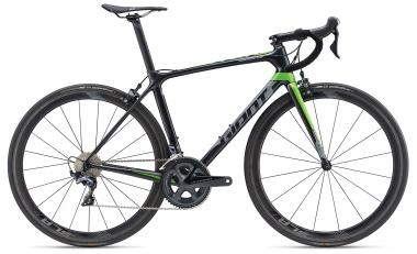 Giant TCR Advanced Pro 1 Gunmetalblack-Green Matt-Gloss 2019