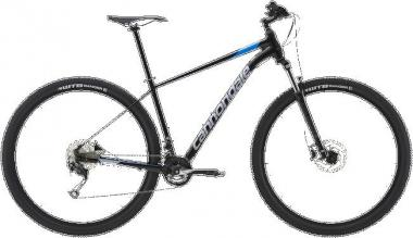 Cannondale Trail 7 BLK Black Pearl w/ Electric Blue and Stingray ? Gloss 2019 - HE 27,5 -