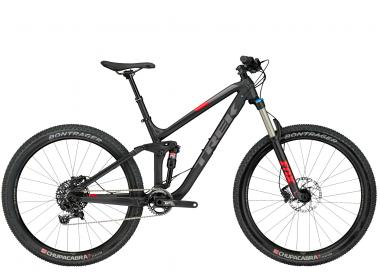 Trek Fuel EX 8 27.5 Plus - 27.5 - Matte Trek Black 17.5