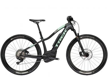 Trek Powerfly 7 Women's - 29 - Matte Trek Black/Sprintmint 19.5