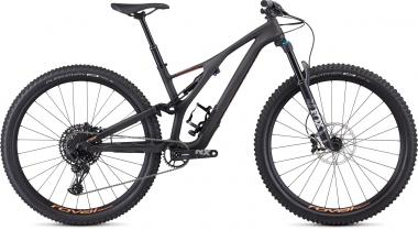 Specialized Women's Stumpjumper ST Comp Carbon 29 - 12-speed - 29 -  Satin Carbon / Acid Lava 2019