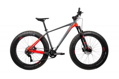 Cube Nutrail grey´n´flashred