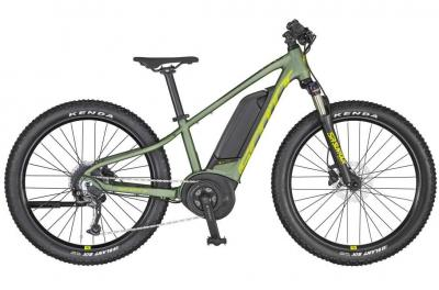 Scott Roxter eRIDE 24 dark ivy green / radium yellow / black 2021