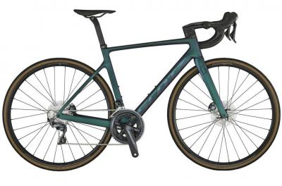 Scott Addict RC 30 carbon black / prism green 2021