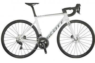 Scott Addict RC 40 gloss pearl white / grey 2021