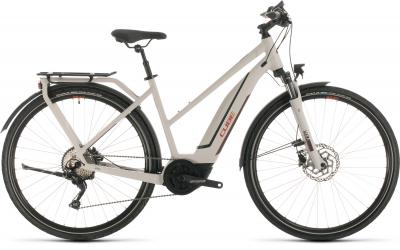 Cube Touring Hybrid Pro 500 - Trapeze -  grey´n´red 2020