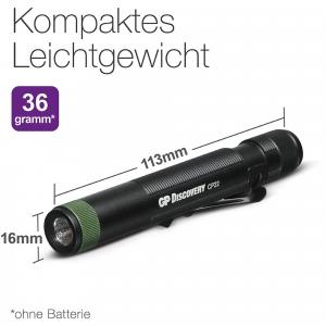 Taschenlampe CP22 365nm inkl. 1x AAA 1,5V Batterie Auswahl