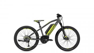 Conway eMS 240 grey matt / lime 2021 - 400 Wh 24